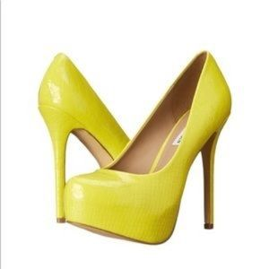 f223956bd25 Women s Neon Steve Madden Heels on Poshmark